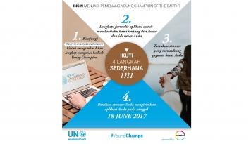 Foto Covestro dan PBB Menggelar Kompetisi Young Champions of the Earth