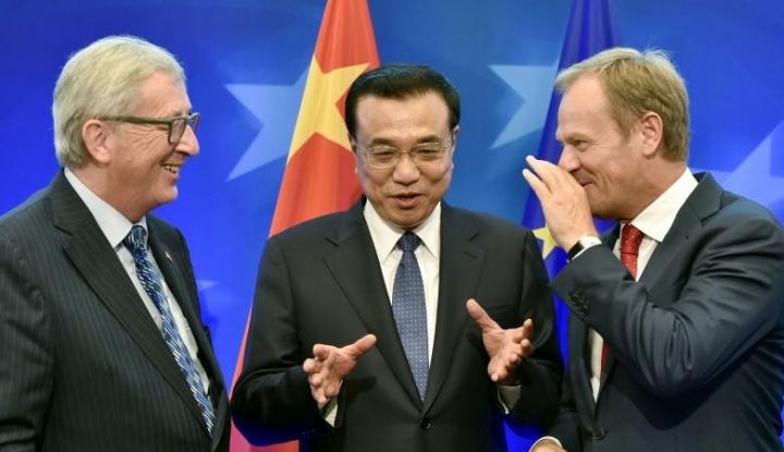 Foto Berita Amerika Tarik Diri, Uni Eropa Rangkul China