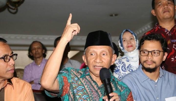 Foto Berita Peringatan Para Aktivis 98: Amien Rais Jangan Ngaku-Ngaku Jadi Pahlawan Reformasi!