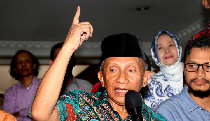 Pak Amien Rais, Hentikan Hujat Kepemimpinan Jokowi!