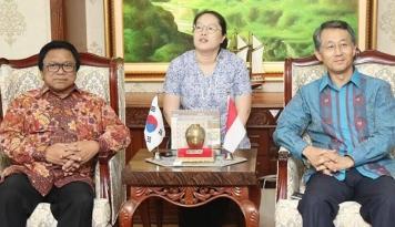 Foto Temui Ketua DPD, Dubes Korsel Buka Obrolan soal Investasi