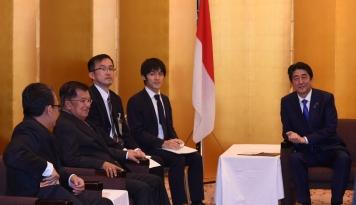 Foto Di Tokyo, Wapres JK Promosikan Asian Games