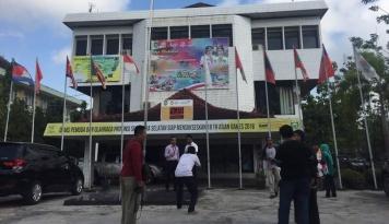 Foto Sumsel Luncurkan Papan Waktu Hitung Mundur Asian Games