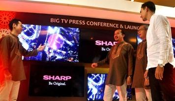 Foto Sharp Akui Pasar Smart TV Masih Kecil