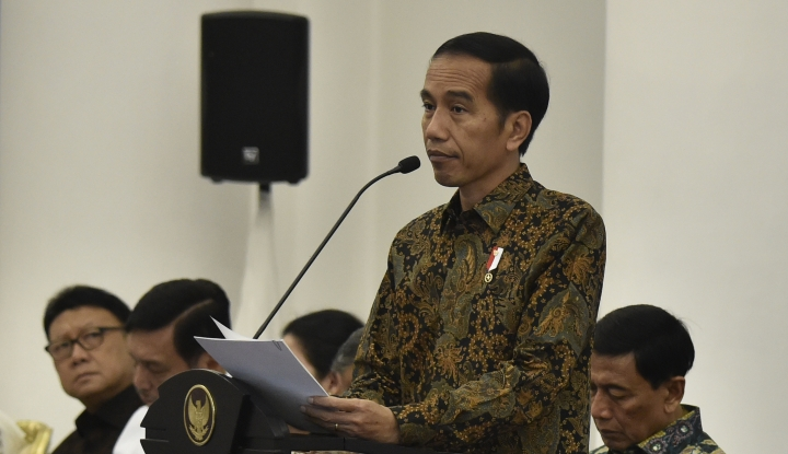 Foto Berita Kutuk Aksi Terorisme di Las Vegas, Jokowi Sampaikan Bela Sungkawa