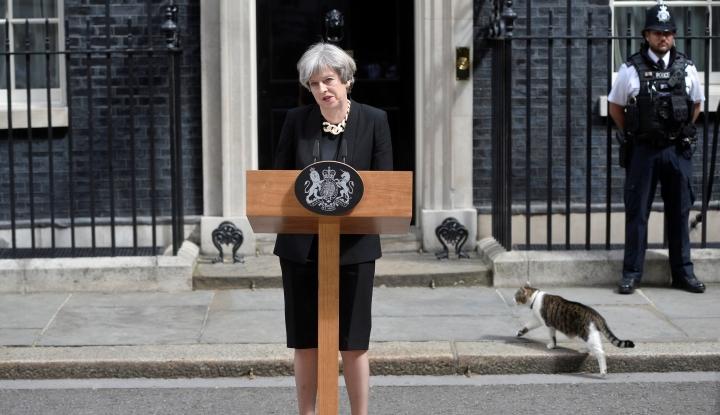 Foto Berita PM Inggris Rapat Darurat dengan Kabinet Bahas Suriah