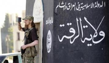 Foto Pusat Komando ISIS Dikabarkan Hancur Lebur