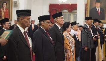 Foto Tahun Politik, Buya Syafii Inginkan Perdamaian
