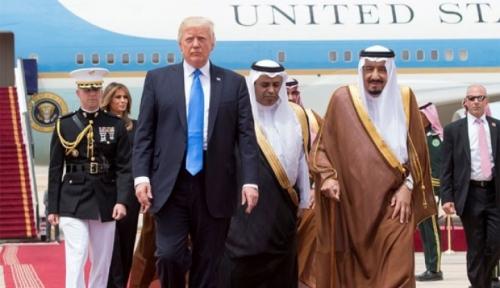Foto Trump Sebut Putra Mahkota Saudi Tak Tahu Soal Hilangnya Jamal Khashoggi