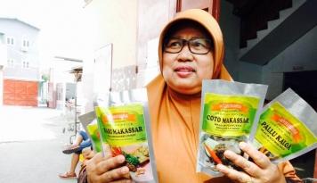 Foto Racikan Bumbu Khas Makassar dari PNS Ini Tembus Pasar Dunia
