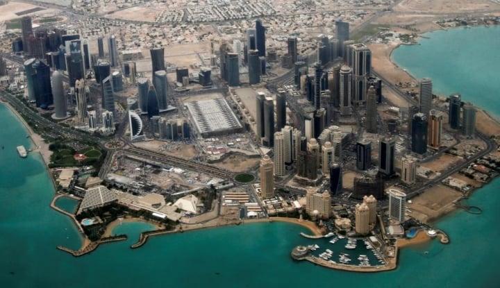 Foto Berita Menkeu Qatar: Finansial Qatar