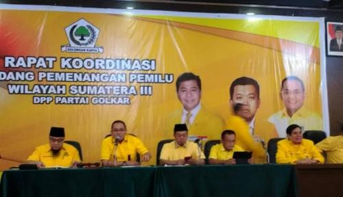 Foto Deklarasi Para Caketum, Tanda-Tanda Golkar...