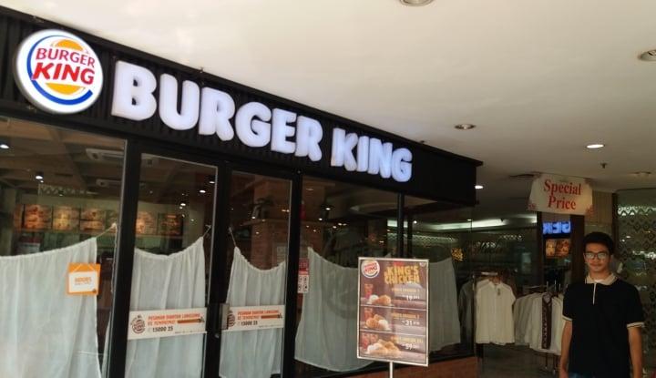 Foto Berita Tutup Ratusan Outlet, Bos Burger King: Kami Gak Akan Bayar Sewa!