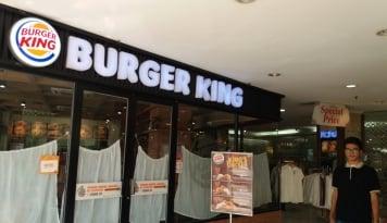 Foto Tutup Ratusan Outlet, Bos Burger King: Kami Gak Akan Bayar Sewa!