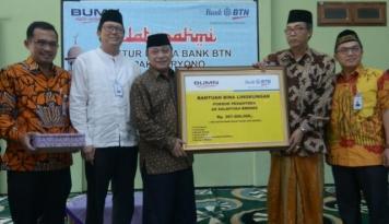 Foto BTN Salurkan Bantuan Rp1 Miliar ke Sejumlah Pesantren