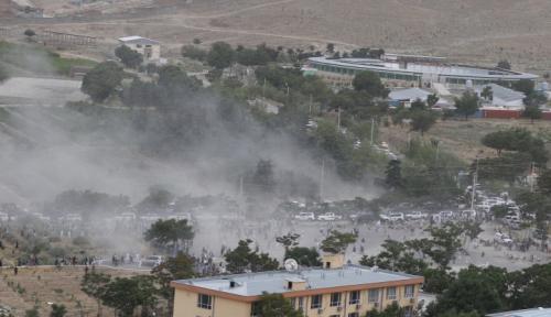Foto Bom Bunuh Diri Meletus di Afghanistan, Delapan Orang Tewas