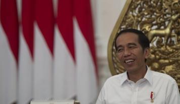 Foto Kunjungi Kongres Pancasila, Jokowi Dapat Pujian