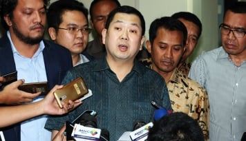 Foto Mantap! Tuntas Akuisisi, Saham Emiten TV Berbayar Milik Hary Tanoe Jadi Bergelora