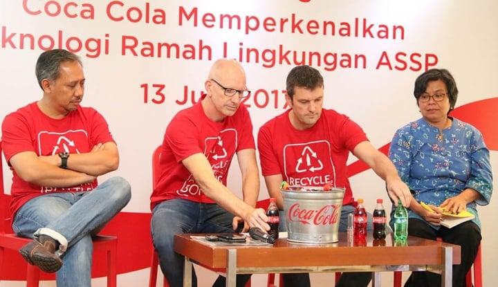 Foto Berita Tekan Limbah Plastik, Coca Cola Luncurkan Teknologi ASSP