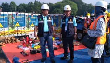 Foto Bos PLN Disjaya Serukan Zero Accident