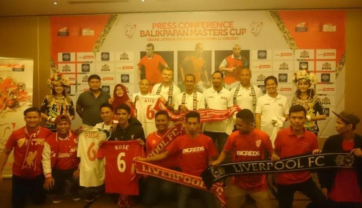 Foto Berita Balikpapan Master Cup Gelar Trofeo Legenda Arsenal, Liverpool dan Indonesia