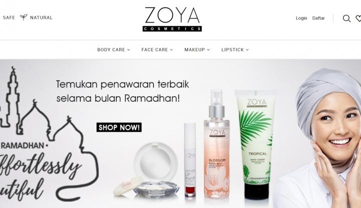 Foto Berita Pangsa Pasar Kosmetik Halal Kian Meningkat, Zoya Luncurkan Produk Kosmetik