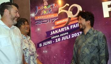 Foto Jakarta Fair 2017 Resmi Ditutup