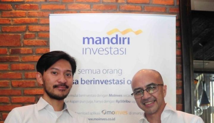 Foto Berita Mudahkan Nasabah, Mandiri Investasi Gandeng CekAja.com
