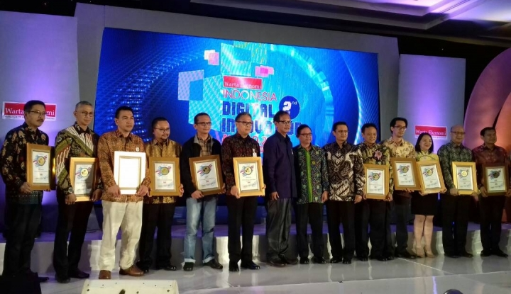 Ini Dia Peraih Indonesia Digital Innovation Award 2017 - Warta Ekonomi
