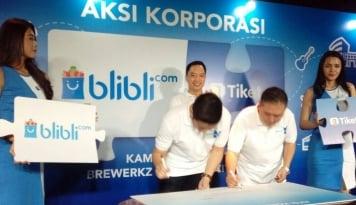 Foto Ekspansi, Blibli.com Akuisisi 100% Tiket.com