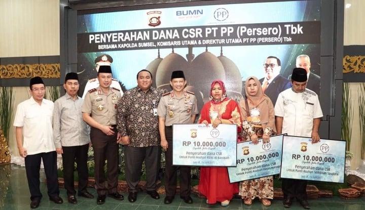 Foto Berita PTPP Bersama Tito Karnavian Buka Puasa Bersama Santri