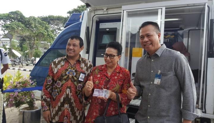 Foto Berita Mandiri Siapkan Penukaran Uang Receh di 10 Titik di Sumsel