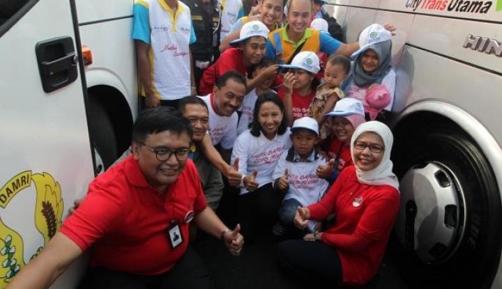 Foto Berita BTN Berangkatkan 500 Pekerja Properti Mudik Bareng BUMN