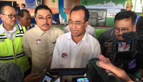 Foto Menhub Targetkan Proyek KA Trans Sumatera Selesai Tepat Waktu