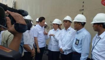 Foto Wamen ESDM Cek Kesiapan Pertamina Jelang Lebaran
