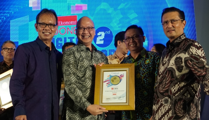 Foto Berita DBS Menangkan Penghargaan Indonesia Digital Innovation Award