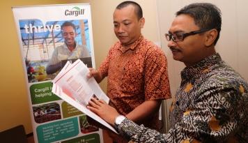 Foto Cargill Luncurkan Laporan  CSR 2016