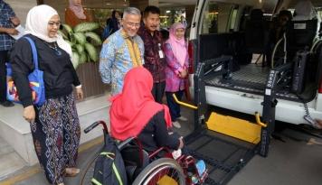 Foto BSM Gelar Mudik Berkah 2017 Bersama Disabilitas