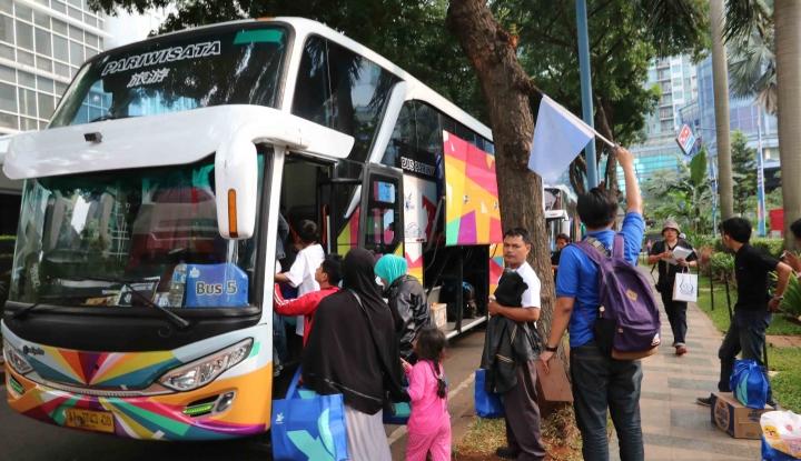 Foto Berita Horeee...Mudik Gratis Kini Sampai ke Luar Jawa