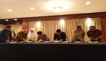 Foto Program Arus Baru Ekonomi Indonesia Libatkan Pesantren, Ormas Islam, Koperasi dan UMKM