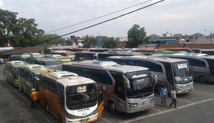 Foto Berita 70 Bus Bakal Ladeni Pemudik Tahun Ini