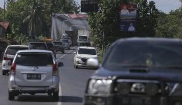 Foto Jasa Travel Tidak Resmi Layani Pemudik Lampung Dengan Tarif Mahal