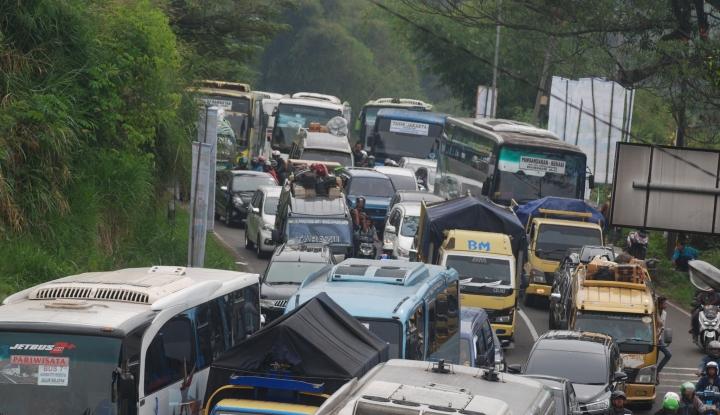 Foto Info Mudik: Pemudik Dapat Lalui Jalur Alternatif  Via Kamojang