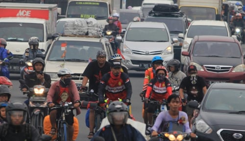 Foto Walikota Kediri Gencar Kampanyekan Bersepeda