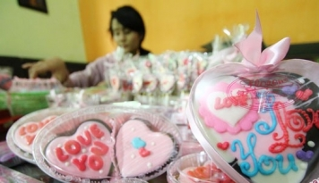 Foto Chocodot Garut Kemas Produk Bernuansa Internasional