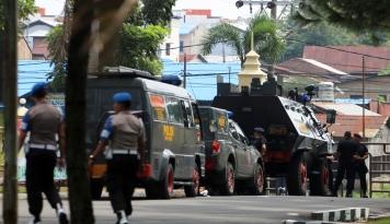Foto Satu Polisi Tewas Diserang di Polda Sumut