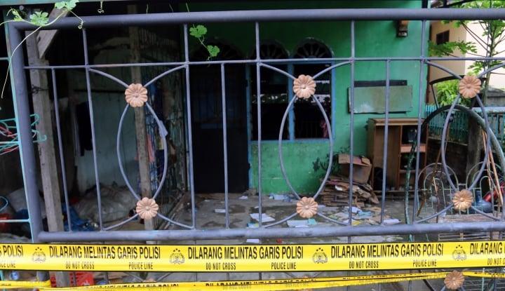 Foto Berita Polisi Temukan Bahan Peledak di Rumah Buronan Kasus Penganiayaan
