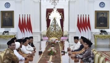 Foto Temui GNPF MUI, Citra Jokowi Anti Islam Terbantahkan