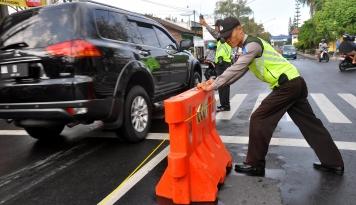 Foto 420 Personel Amankan Libur Lebaran di Bukittinggi