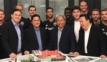 Foto Erick Thohir Siapkan Rp6 Triliun untuk Bangun Stadion DC United